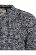 Load image into Gallery viewer, Twist Knit Knit Black Marl