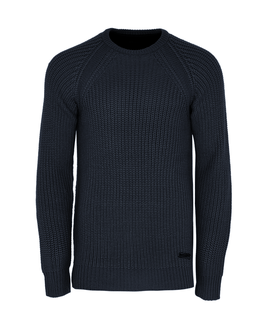 Mediumweight Fisherman Jumper Navy