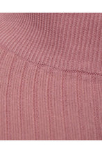 Load image into Gallery viewer, Muscle Fit Ribbed Turtle Knit Pink