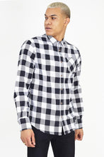 Load image into Gallery viewer, Flannel Shirt White