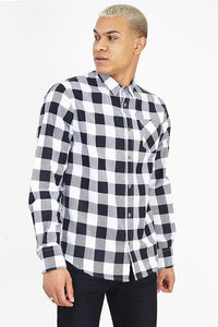 Flannel Shirt White