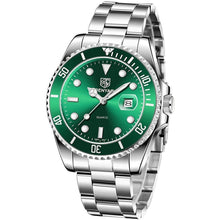 Load image into Gallery viewer, Seamaster Watch Green Steel