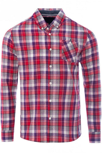 Soft Check Shirt Red