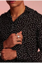 Load image into Gallery viewer, Soft Dots Long Sleeve Shirt Black
