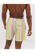 Load image into Gallery viewer, Pastel Stripe Swim Shorts