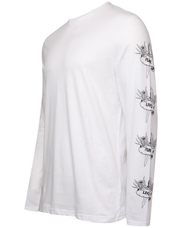 Society Long Sleeve T-Shirt White