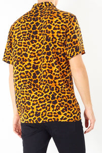 Soft Feel Leopard Shirt