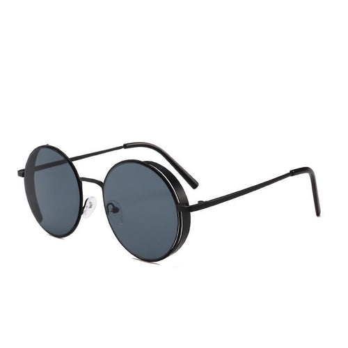 Side Steam Sunglasses Black