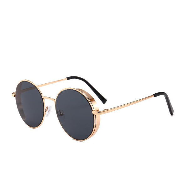 Side Steam Sunglasses Gold