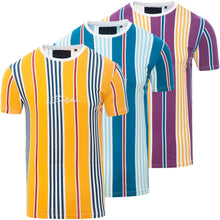 Load image into Gallery viewer, 0 Stripe Signature T-Shirt Yellow