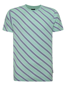 Diagonal T-Shirt Mint