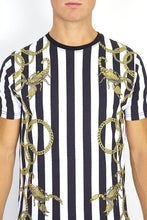Load image into Gallery viewer, Stripe Chain T-Shirt