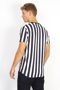 Stripe Chain T-Shirt