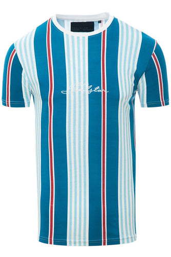 Stripe Signature T-Shirt Blue