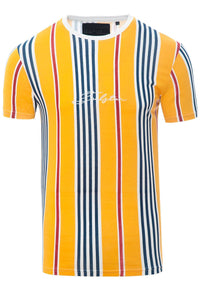 Stripe Signature T-Shirt Yellow