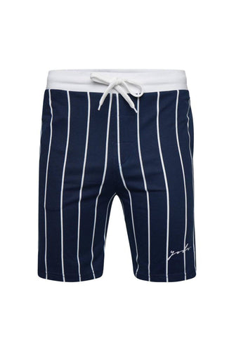 Vertical Signature Shorts Navy