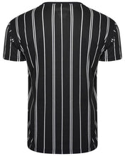 Load image into Gallery viewer, Signature Stripe T-Shirt Double Black