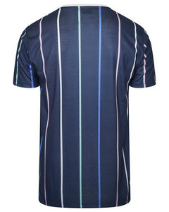 Signature Stripe T-Shirt Multi Navy