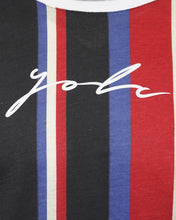 Load image into Gallery viewer, Signature Stripe T-Shirt Multi Red