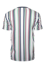 Load image into Gallery viewer, Signature Stripe T-Shirt Multi White