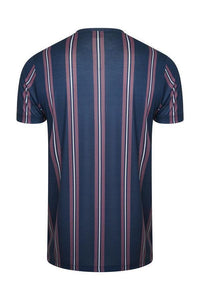 Signature Stripe T-Shirt Plum Navy
