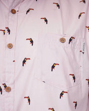 Load image into Gallery viewer, Toucan Holiday Shirt Pink