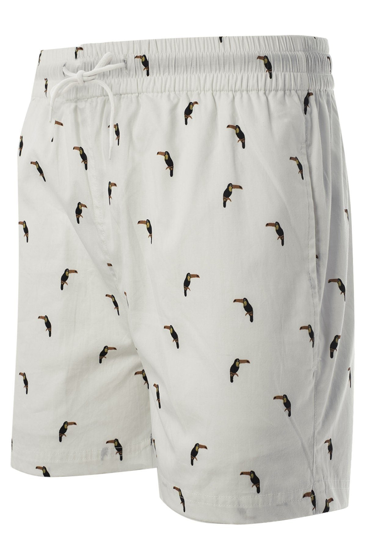 Toucan Shorts White