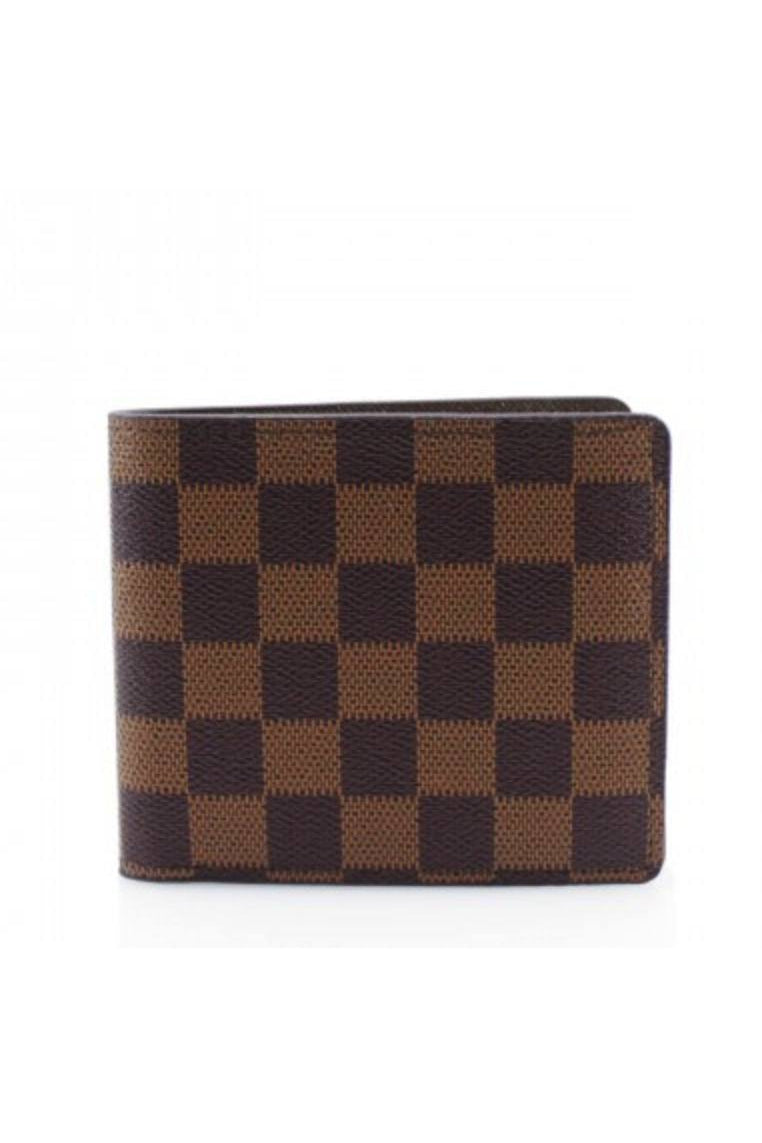 Check Wallet Brown