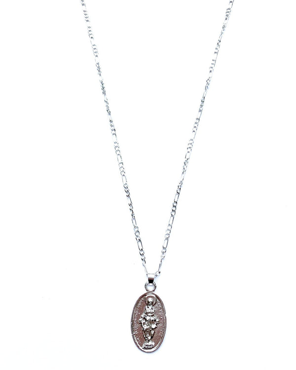Faith Coin Silver Pendant