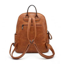 Load image into Gallery viewer, Luxury Backpack Brown