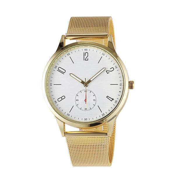Minimal Mesh Watch Gold