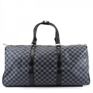 Weekend Bag Blue Check