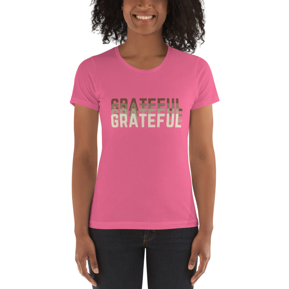 GRATEFUL Energy Slim Fit Graphic Tee