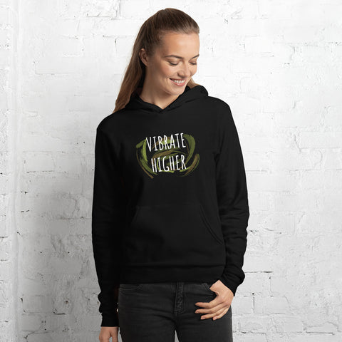 VIBRATE HIGHER Frequency Graphic Hoodie
