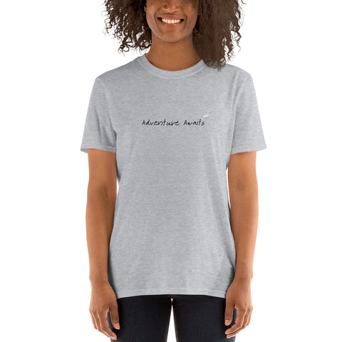 ADVENTURE AWAITS Manifest Graphic Tee