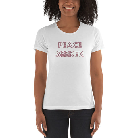 PEACE SEEKER Energy Slim Fit Graphic Tee