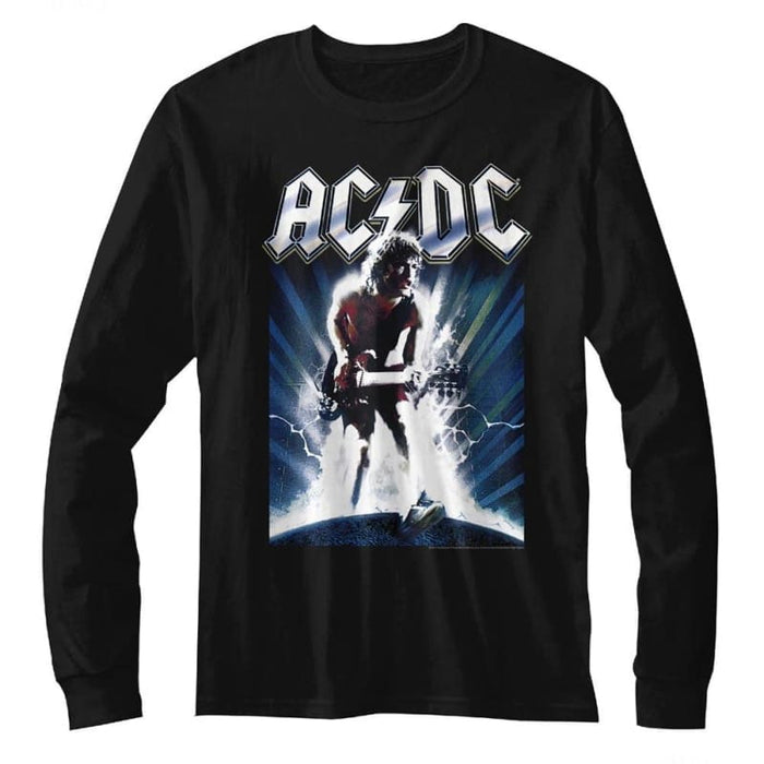 ACDC-ACDCACDC-BLACK ADULT L/S TSHIRT