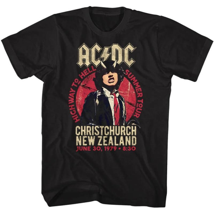 ACDC-NZ TOUR-BLACK ADULT S/S TSHIRT