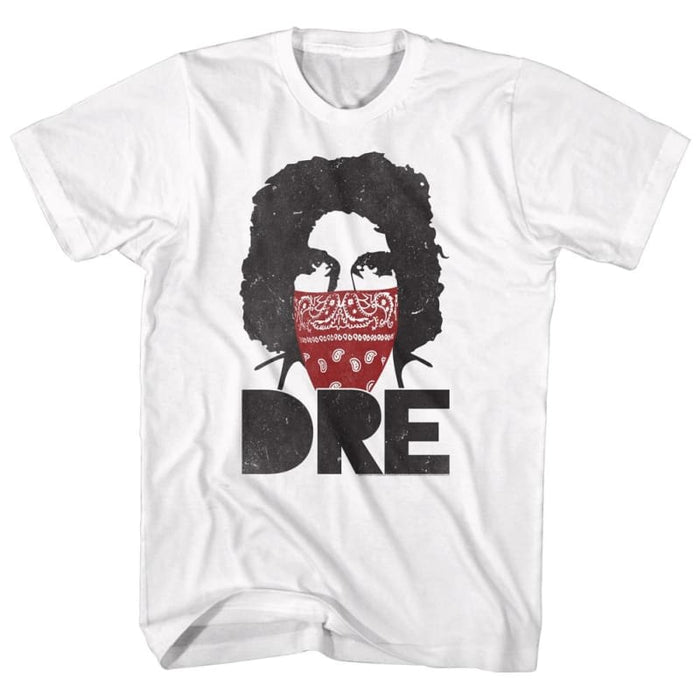 ANDRE THE GIANT-BIG DREDANA-WHITE ADULT S/S TSHIRT