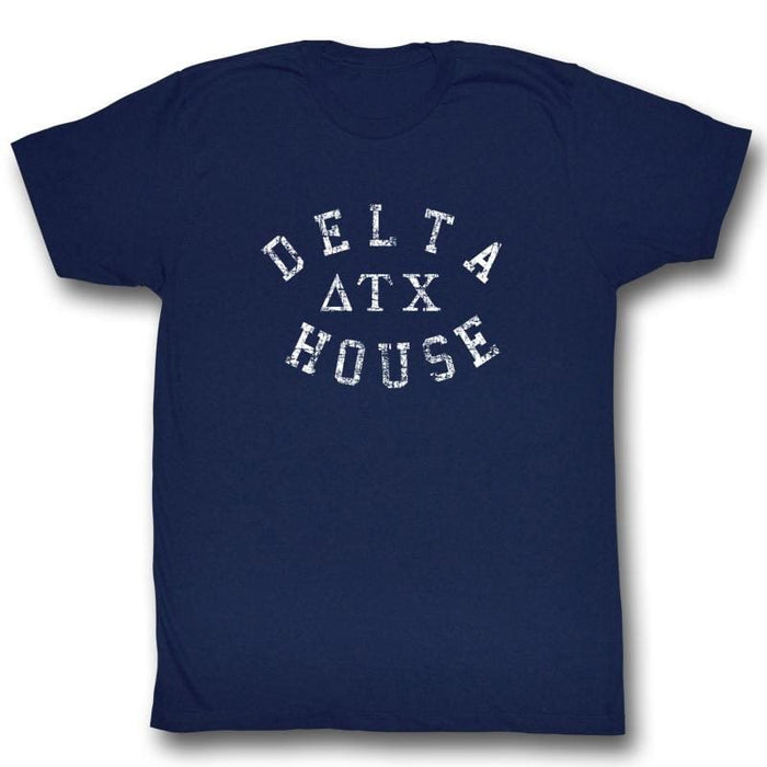 ANIMAL HOUSE-DELTA HOUSE-NAVY ADULT S/S TSHIRT
