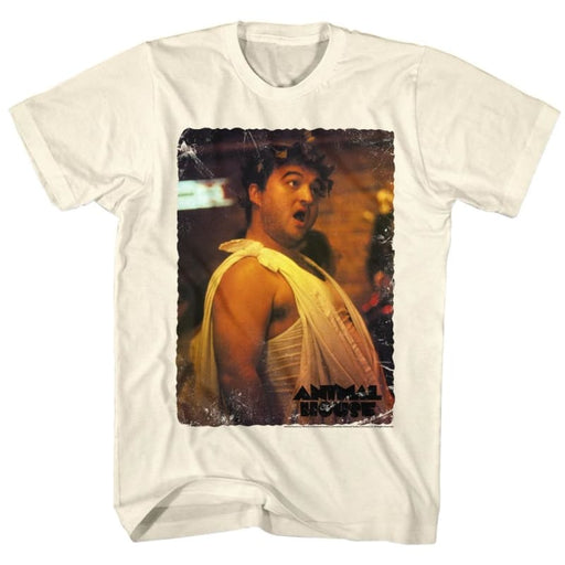 ANIMAL HOUSE-VINTAGE TOGA-NATURAL ADULT S/S TSHIRT