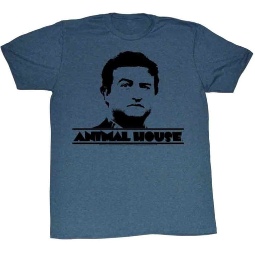 ANIMAL HOUSEUNBURST-NAVY HEATHER ADULT S/S TSHIRT