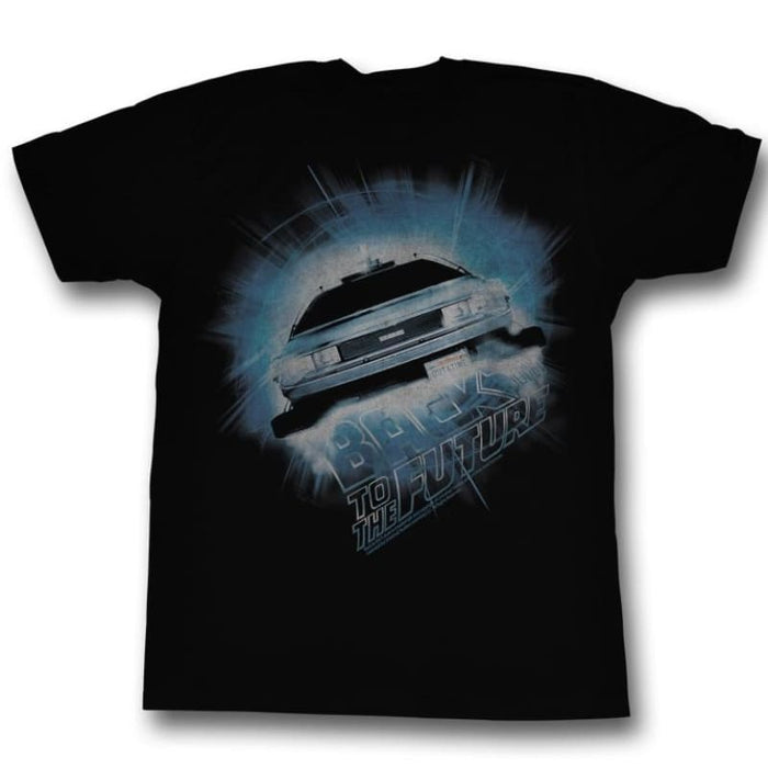 BACK TO THE FUTURE-DABA DEE DABU DIE-BLACK HEATHER ADULT S/S TSHIRT