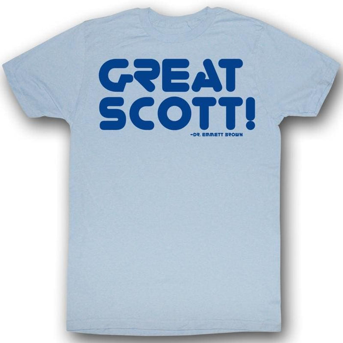 BACK TO THE FUTURE-GREATNESSIGHT BLUE ADULT S/S TSHIRT