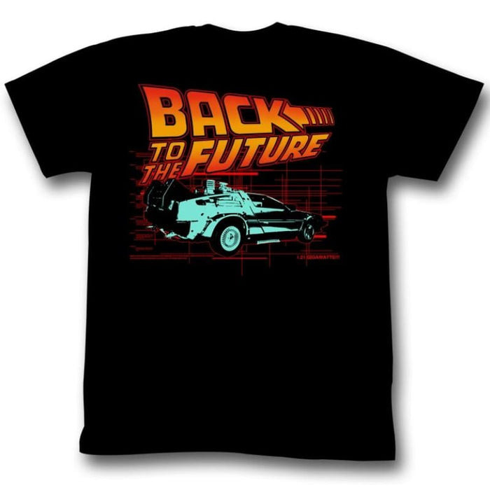 BACK TO THE FUTURE-ITLL BE-BLACK ADULT S/S TSHIRT