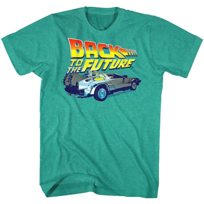 BACK TO THE FUTURE-KIDS DIG ITAHI HEATHER ADULT S/S TSHIRT