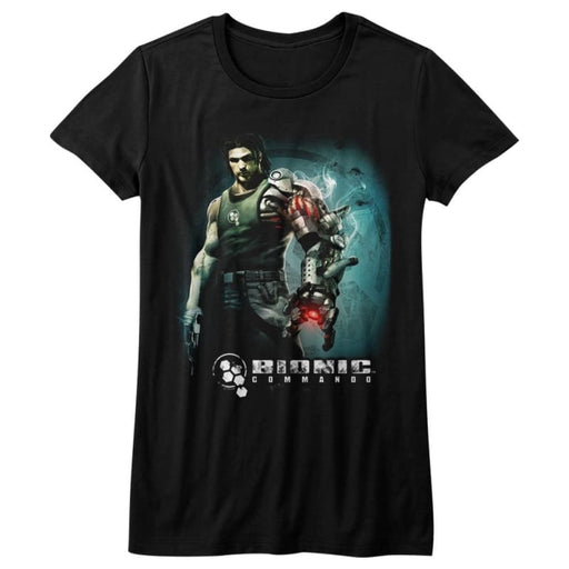BIONIC COMMANDOTEAM ARM-BLACK JUNIORS S/S TSHIRT