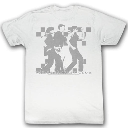 BREAKFAST CLUB-WADDLE-WHITE ADULT S/S TSHIRT