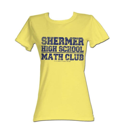 BREAKFAST CLUBATH CLUB-YELLOW HEATHER JUNIORS S/S TSHIRT