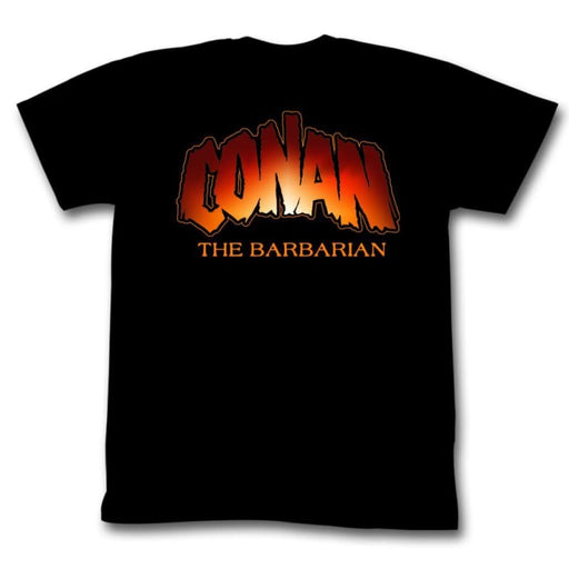 CONAN-NEW LOGO-BLACK ADULT S/S TSHIRT